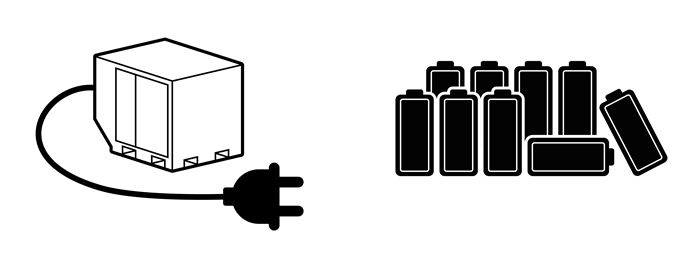 Dedicated battery packs versus single-use D-cell batteries